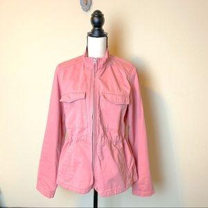 GAP pink utility cargo jacket
